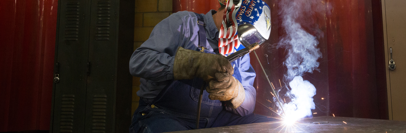Central Campus Student Welding