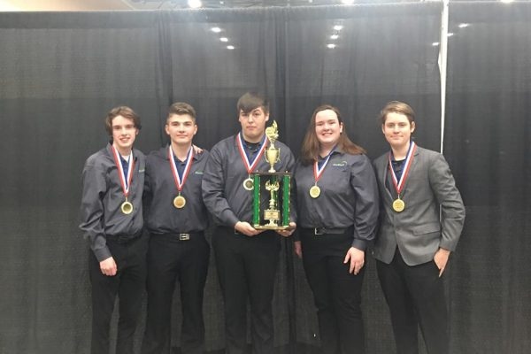 Central Campus Culinary Students Claim 1st Place in State Invitational will represent Iowa in Washington D.C