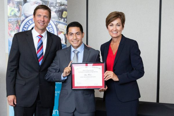 Innovative Central Partnership Yields First Two Graduates