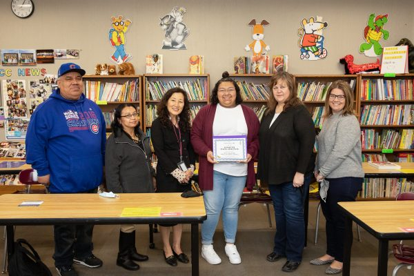 Senior Baez-Jimenez Awarded Delta Kappa Gamma Scholarship