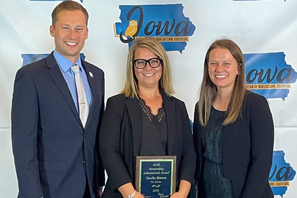 Central's Brown Named Ag Ed Administrator of the Year
